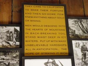 Miner's Plaque